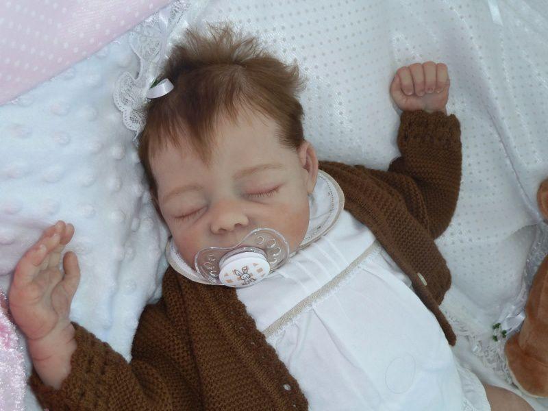 Pixie sleeping / endormie Silicone Reborn