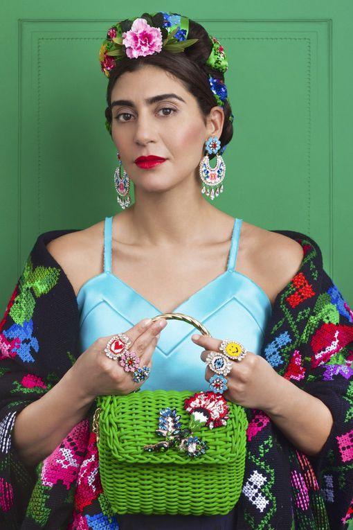 Sa collection inspirée par l'artiste peintre mexicaine Frida Kahlo !