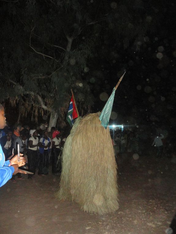 Le Kumpo : masque traditionnel en Casamance