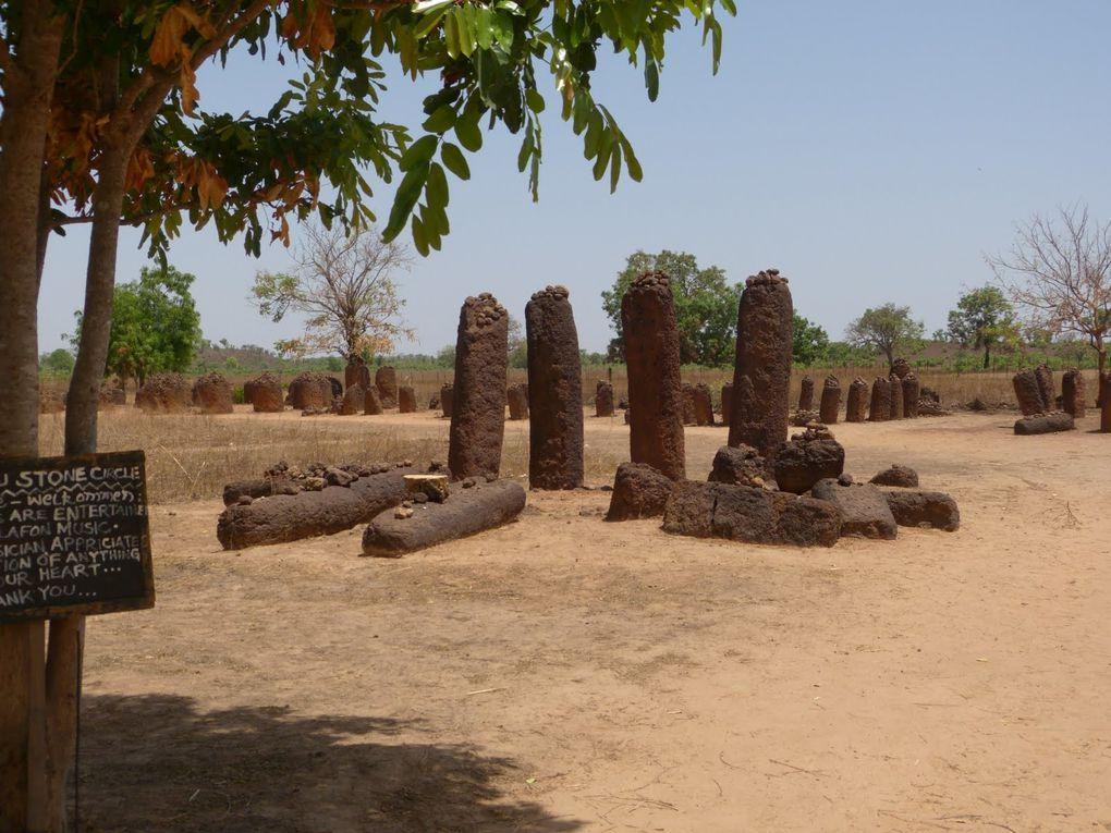 Les &quot&#x3B;Stones circles&quot&#x3B; de Gambie