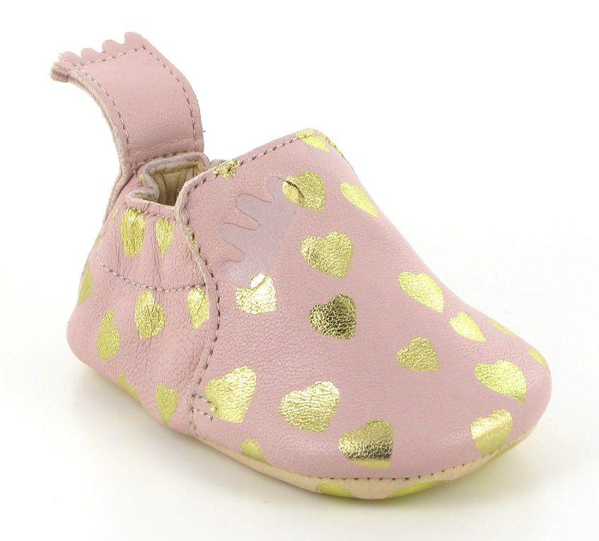 Easy Peasy, les chaussons de cuir souple pour bébé.