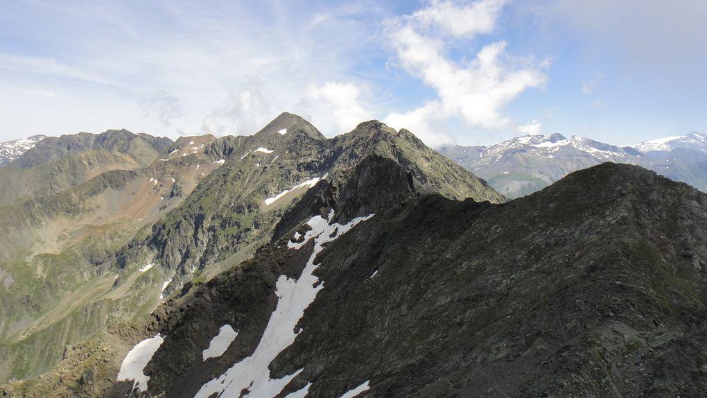 Le Coiro (2607m), boucle par le Rif Bruyant et l'Infernet