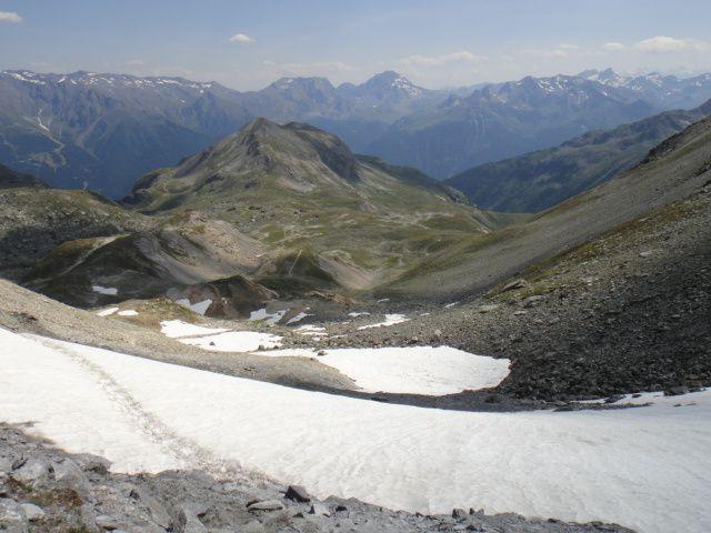 Col de Chavière (2796m), par le Lac de la Partie
