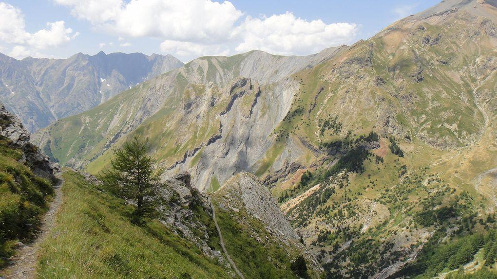 Rocher de la Grande Eglise (2273m) et Col du Paletas (2258m)