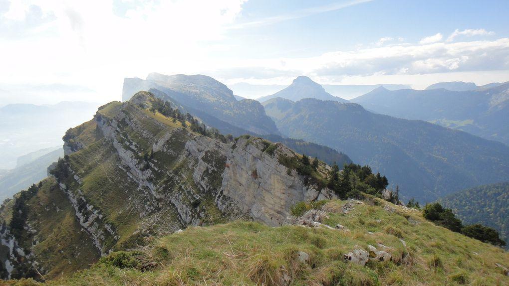 Dent de Crolles (2062m) et Dôme de Bellefont (1975m), par le Pas de Rocheplane