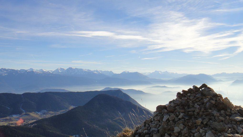Chamechaude (2082m) et La Pinéa (1771m)