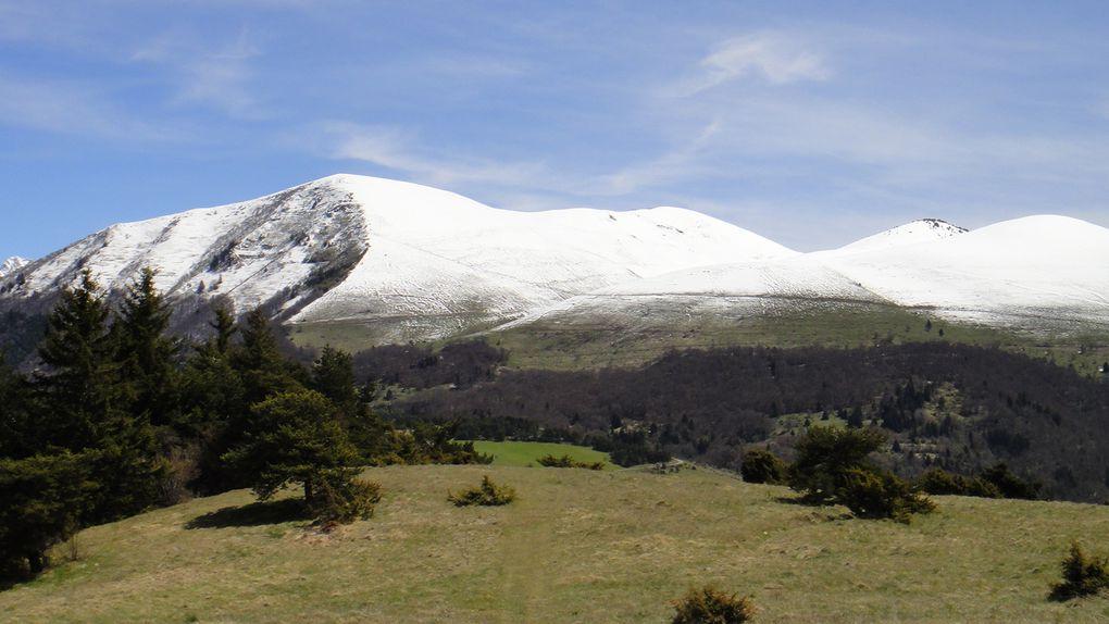 Montagne de Roussillon (1604m) et Signal de St Michel (1422m)