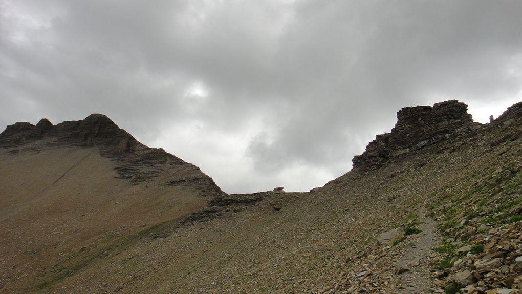 Col des Tourettes (2582m), depuis le Saut du Laïre