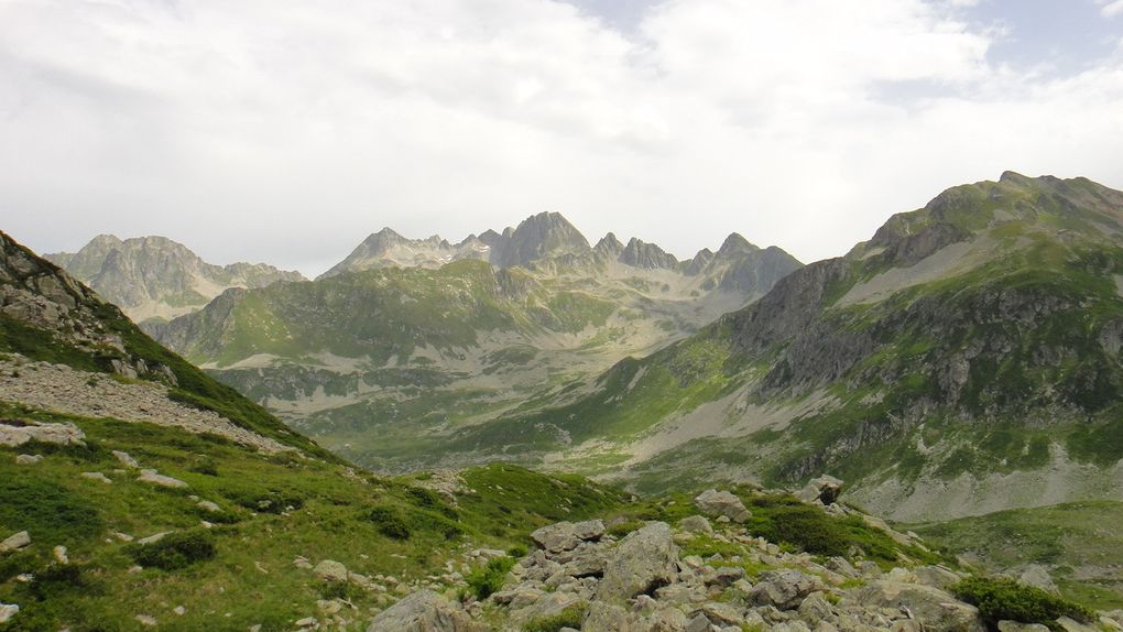 Col du Vay et Col du Merlet, depuis la Bourgeat Noire