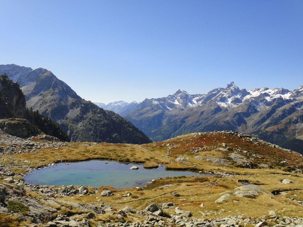 Col de la Vache (2534m), depuis le Rivier d'Allemont