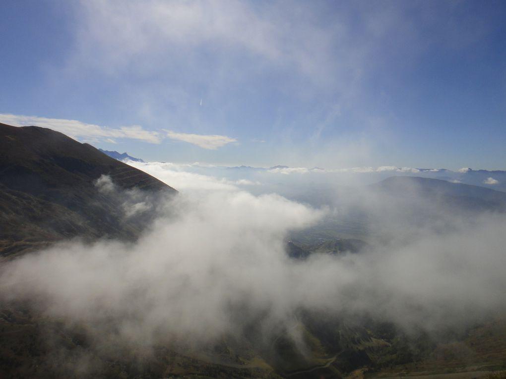Le Pérollier (2183m) et le Grand Serre (2141m) depuis Cholonge