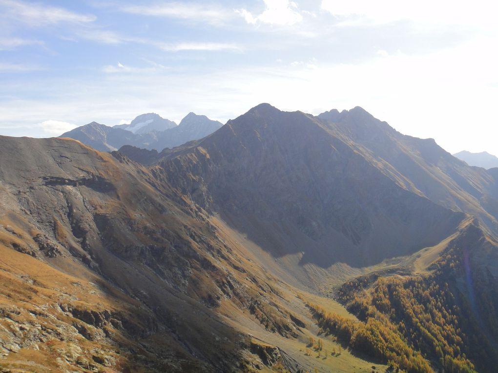 Col du Paletas (2258m) et Le Quérelet (2504m)