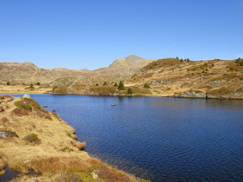 Le Taillefer (2857m), depuis la Cascade, par le Pas de la Mine et le lac Fourchu