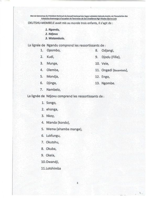 LE SANKURU, NOTRE MAISON COMMUNE, CONSTITUE LE COEUR DE LA RDC