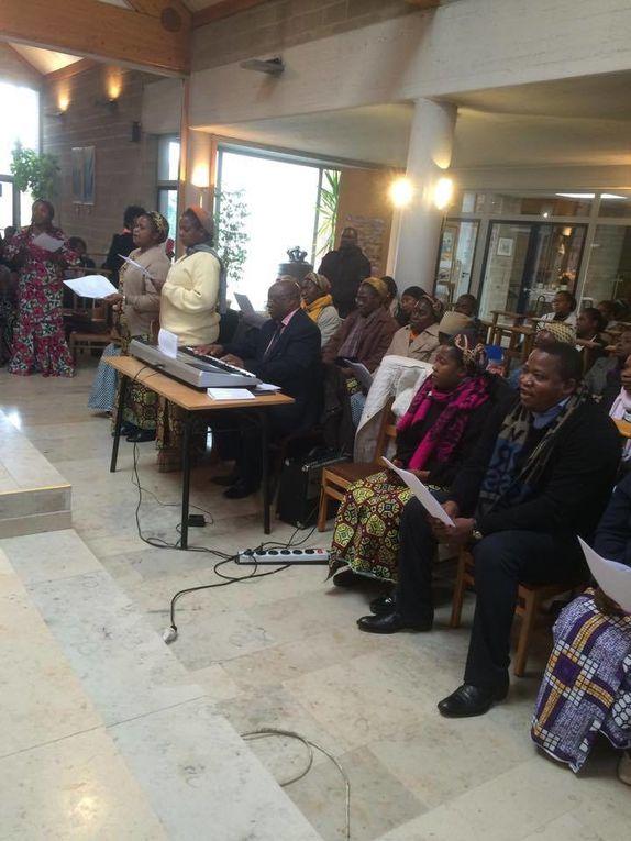 MESSE DE REQUIEM EN BELGIQUE, EN MÉMOIRE DE MGR ALBERT HIOMBO, VICAIRE GÉNÉRAL DU DIOCÈSE DE TSHUMBE