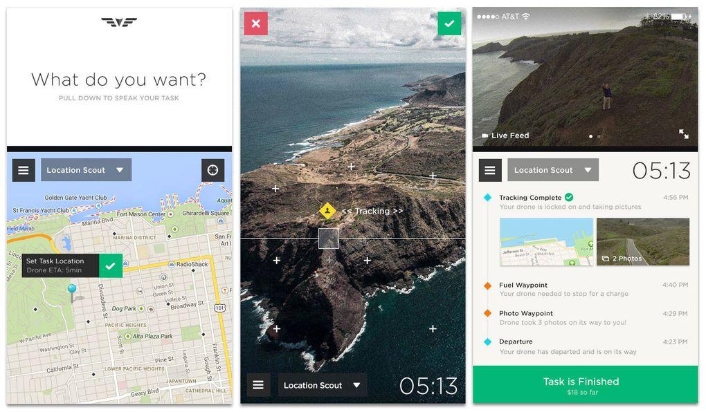 Ne sortez plus sans votre drone grâce à cette application iPhone et iPad