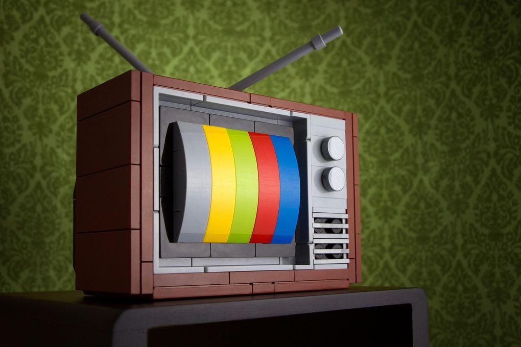 Géniales ces reproductions en Lego d'objets vintage par Chris McVeigh