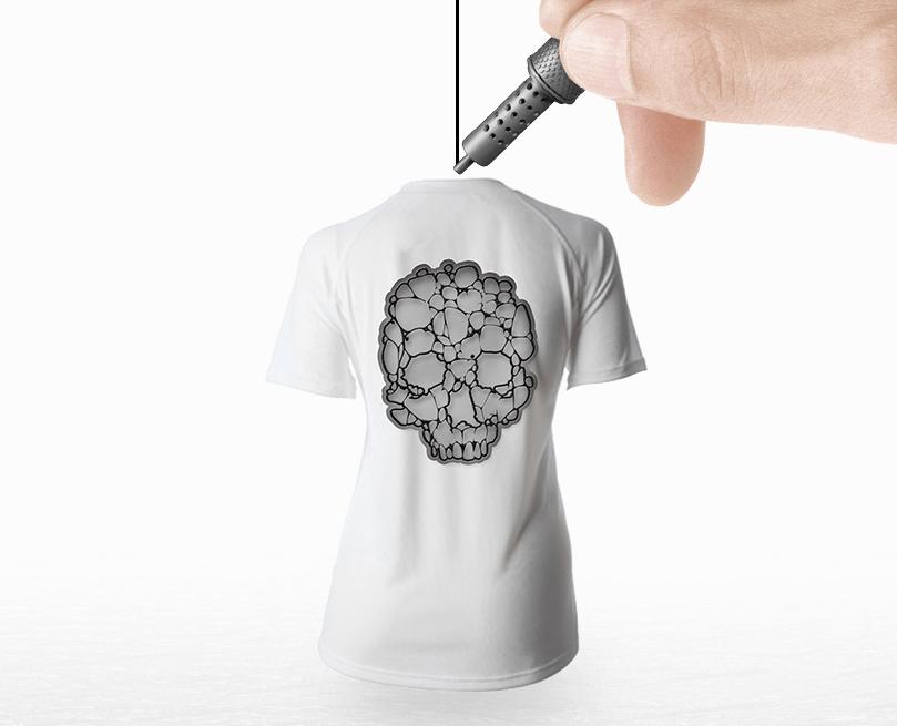 Ce stylo permet d'écrire dans les airs en créant des impressions 3D