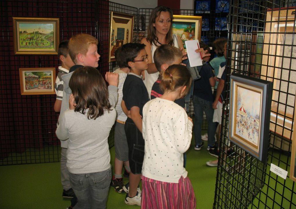 Une exposition à l'école