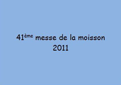 Album - Messes de la moisson