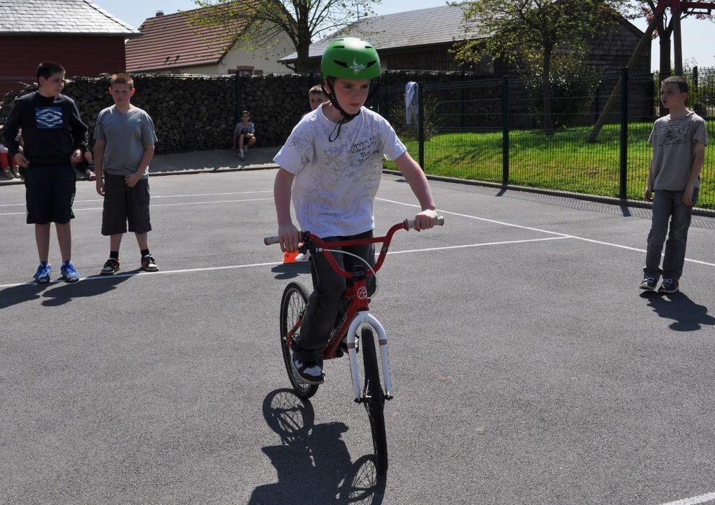 Des vélos à l'école