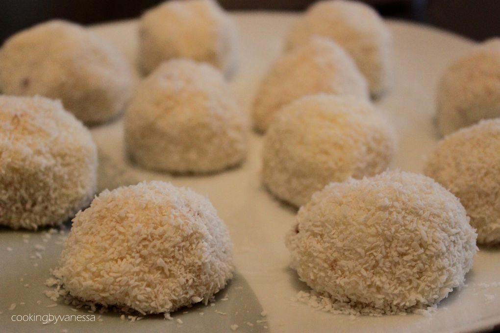 Boule noix de coco nutella