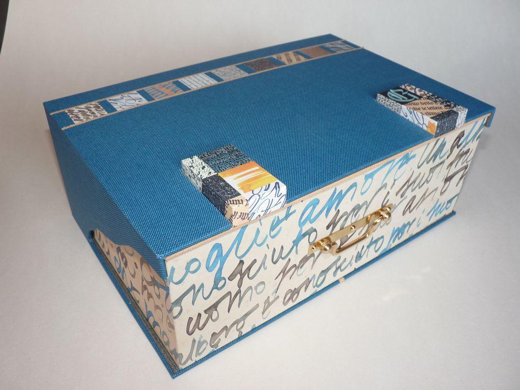 Les boîtes Tangram.