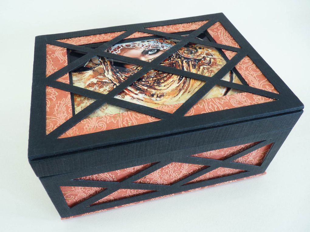 La boîte Moucharabieh.