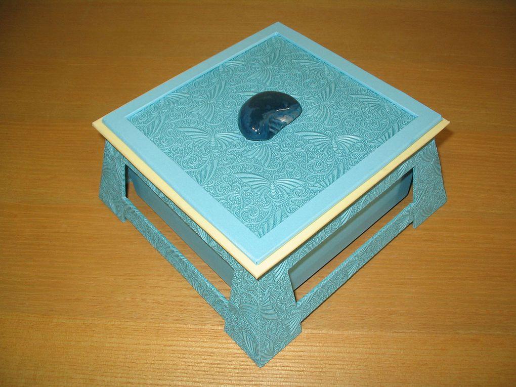 La boîte chinoise carrée.