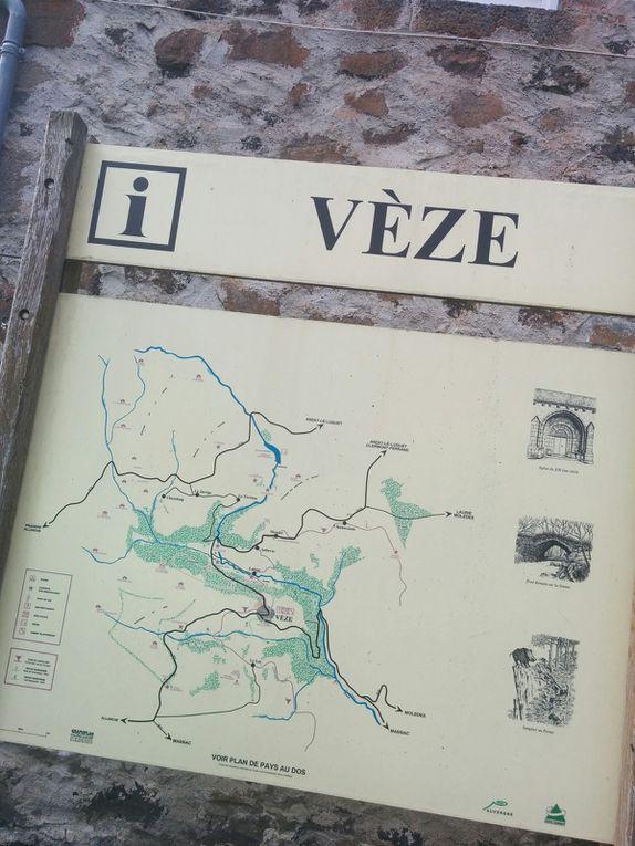 De Anzat à Allanche... traversée du pays de Vèze
