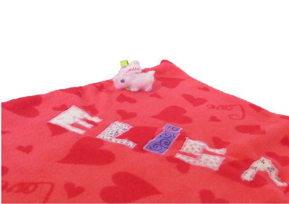 Couverture bébé personnalisée Elisa la petite souris by 1B2F - 1 Brin 2 Folie