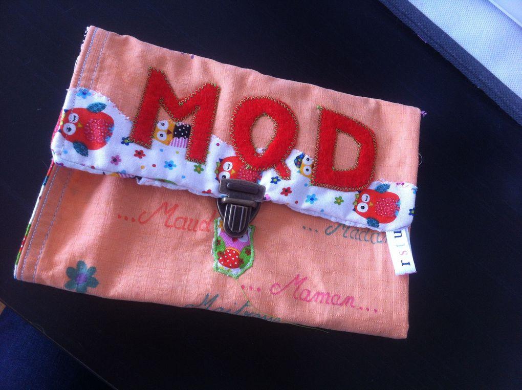 Les kits sac à mains, trousses et pochettes personnalisée by 1B2F - 1 Brin 2 folie