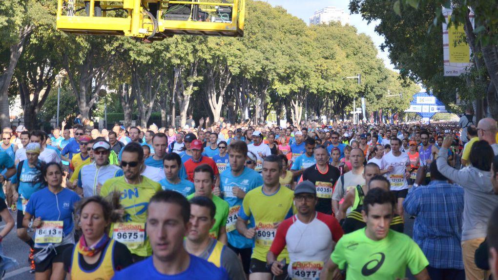 Marseille-Cassis 2014 : Quelques photos du départ