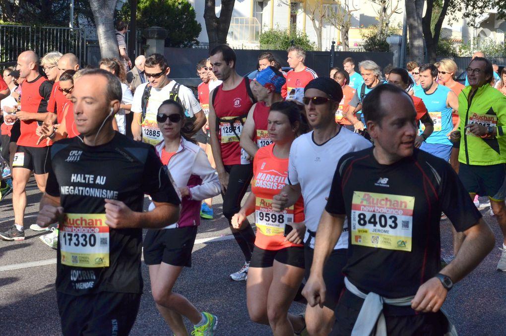 Marseille-Cassis 2014 : Photos de participants (Première Partie)