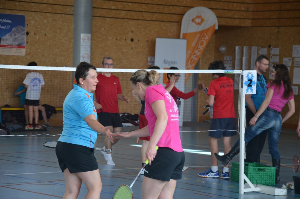 Photos - Tournoi National de Badminton : La Plume des Neiges 2016 (2)