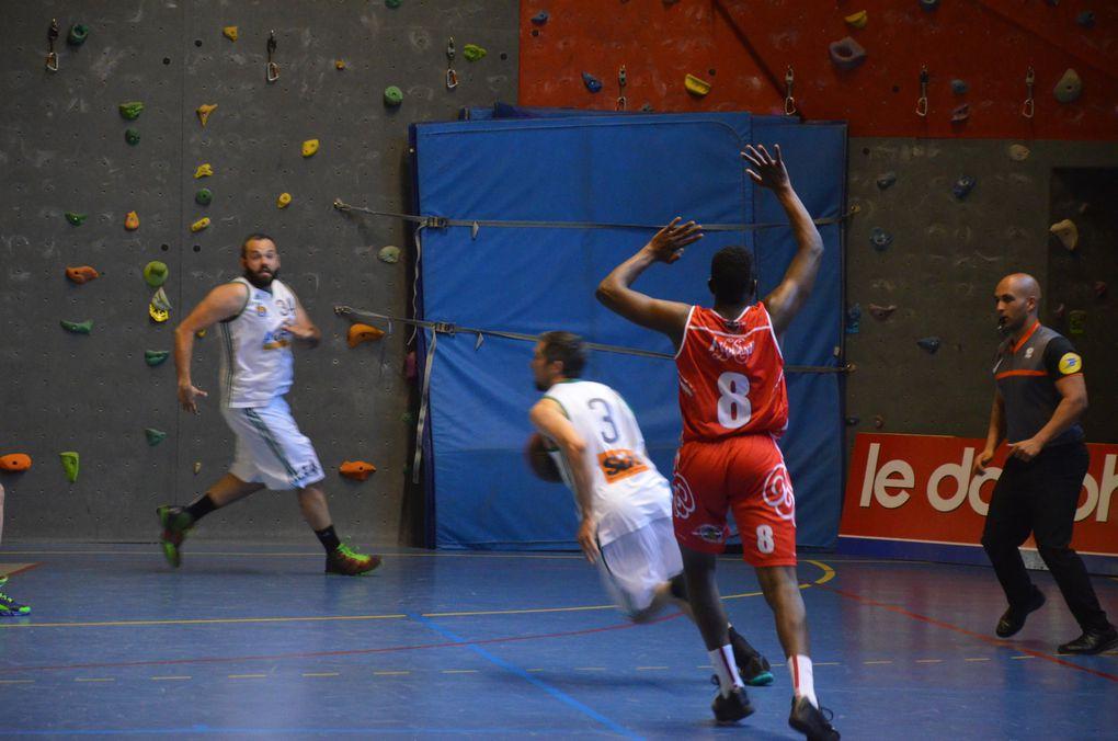 Photos - Briancon Basket-Ball : Dernier match contre la Cote Bleue