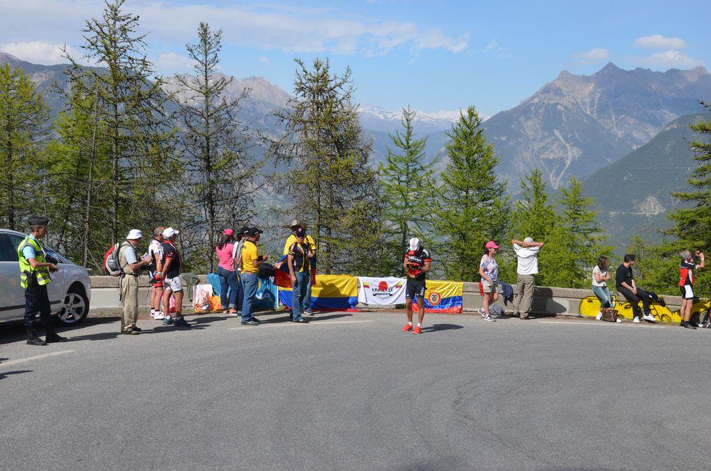 Photos - Giro 2016 : La montée de Risoul