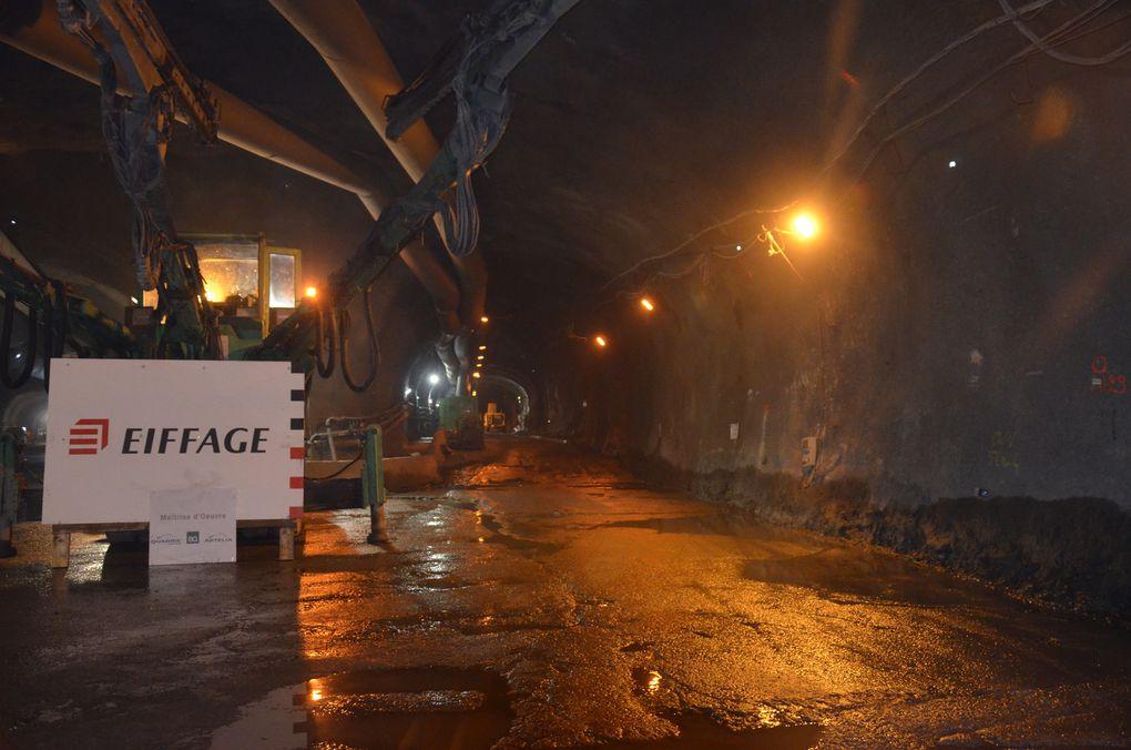 Photos - Isere/Hautes-Alpes : Percement du Nouveau Tunnel du Chambon.