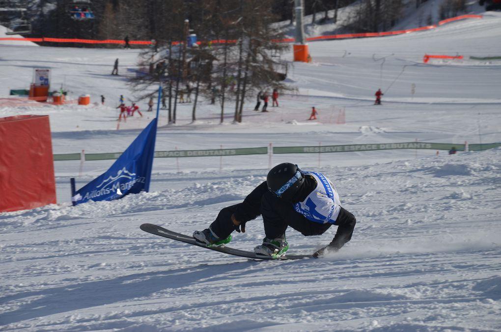 Photos - Coupe de France de Snowboard Slalom Géant : 1ère journée de compétition