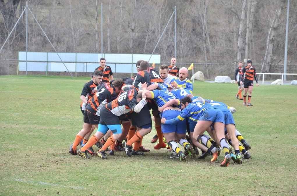 La Provence Les Alpes - Article : L'avant demi-finale retour Varacieux - Rugby Club du Pays Briançonnais