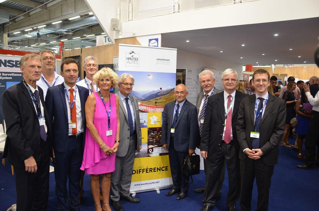 La Provence Les Alpes - Articles : Les Hautes-Alpes au Salon International de l'Aéronautique et de l'Espace du Bourget