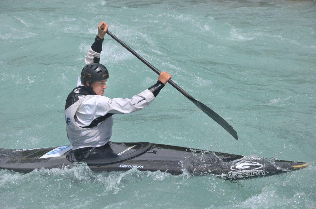 La Provence Les Alpes - Article : Qualifications Jeunes des Championnats de France de Canoë-Kayak Slalom 2017
