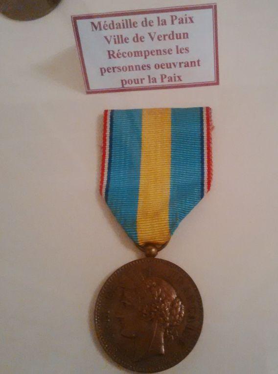 La médaille de Verdun.