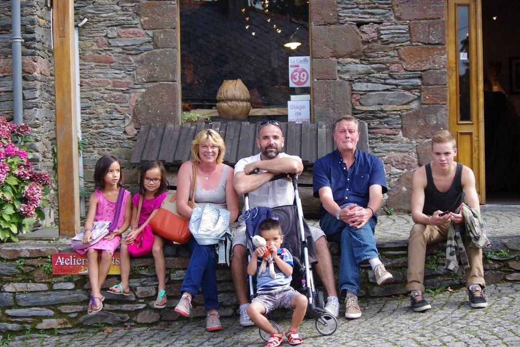 La famille citron en vacances