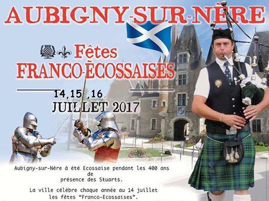 Aubigny-sur-Nère : Fêtes franco-écossaises