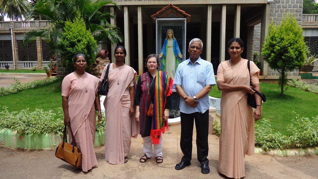 INDE: visite aux communautés - juin 2016