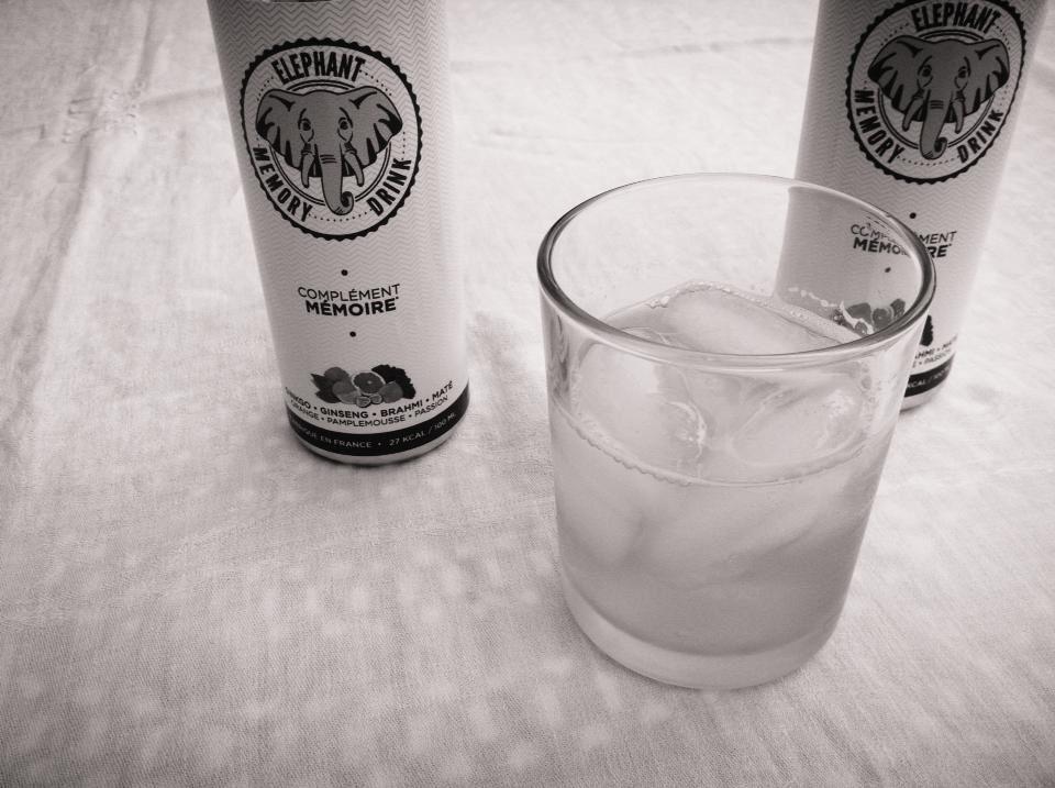 buvons intelligent avec Elephant Memory Drink