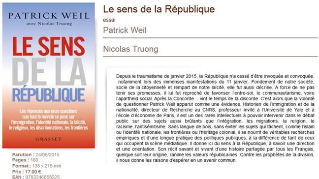 Patrick Weil.