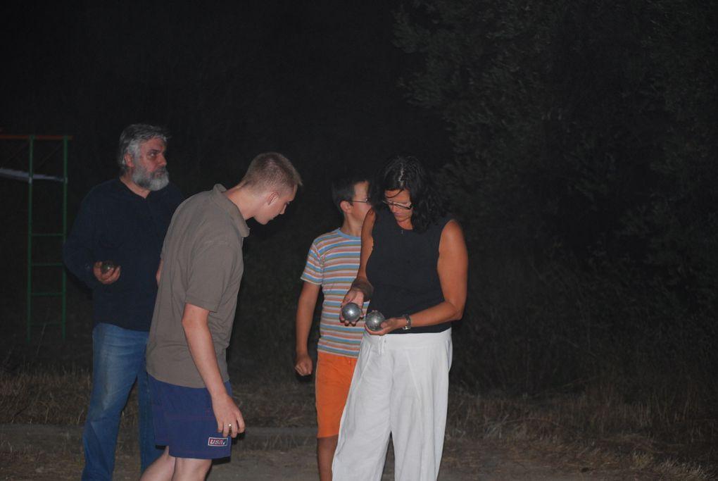 Même à 2 heures du matin, ... fait chaud ! Aout 2008