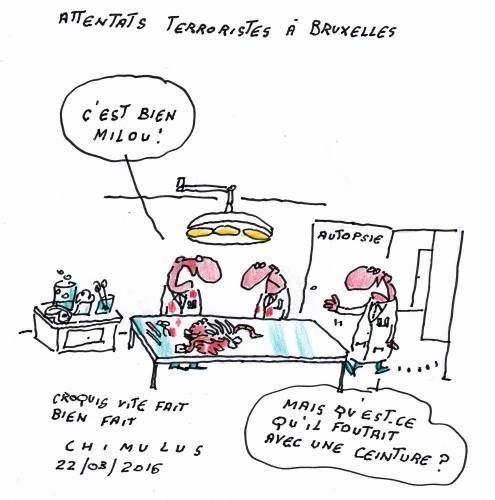 Bruxelles, les dessinateurs contre-attaquent...